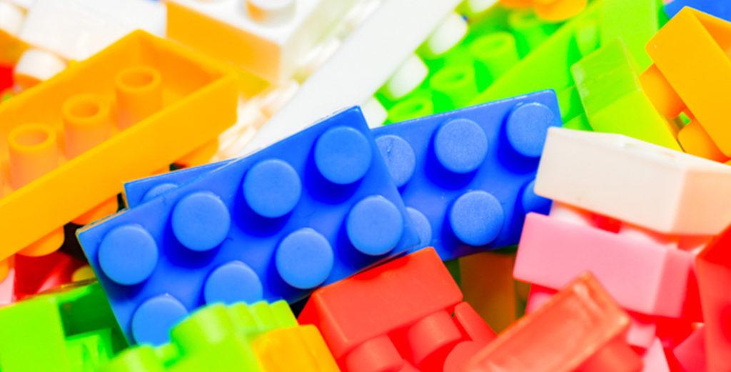 こどもとレゴ